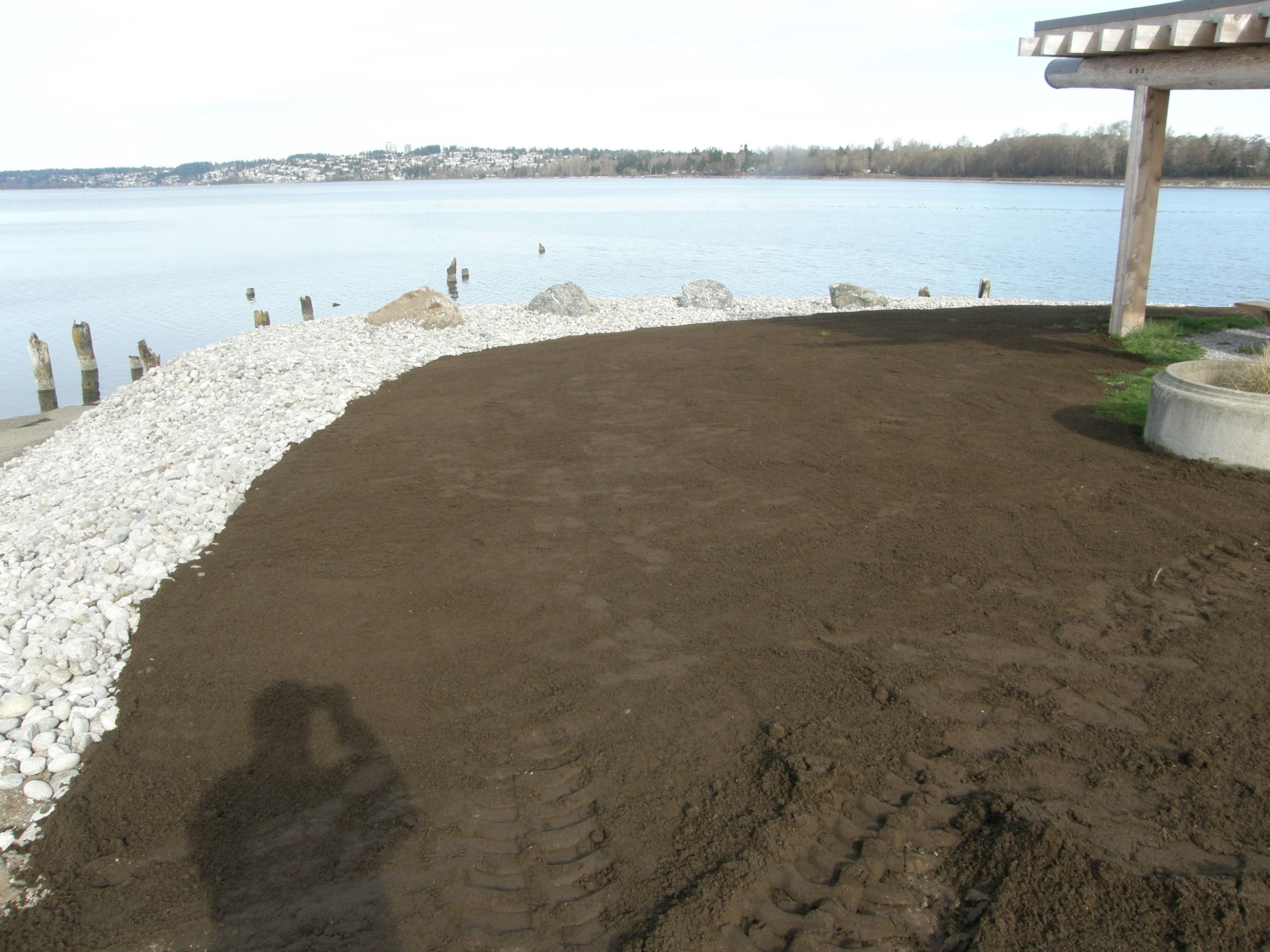 Marine Park Shoreline Reconstruction Process 1